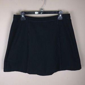 Michael Michael Kors Black Panel Skirt